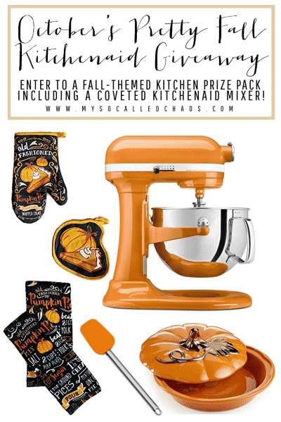 KitchenAid Fall Giveaway