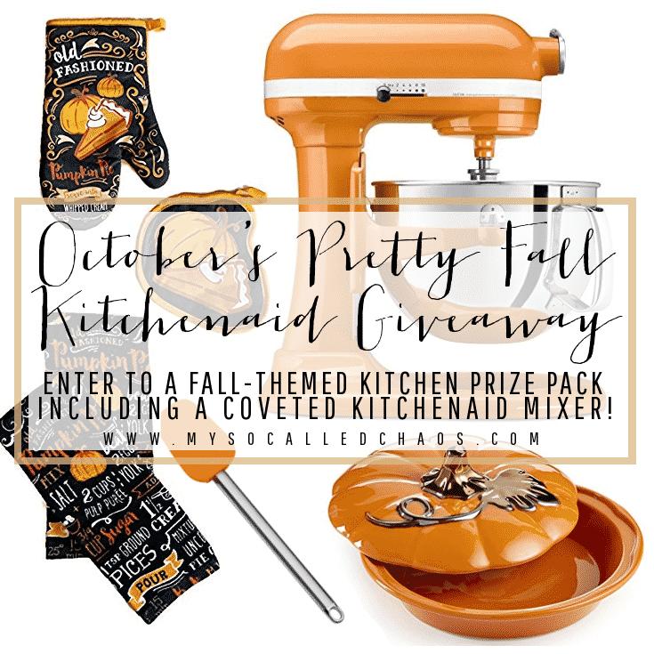 Pretty Fall KitchenAid Giveaway