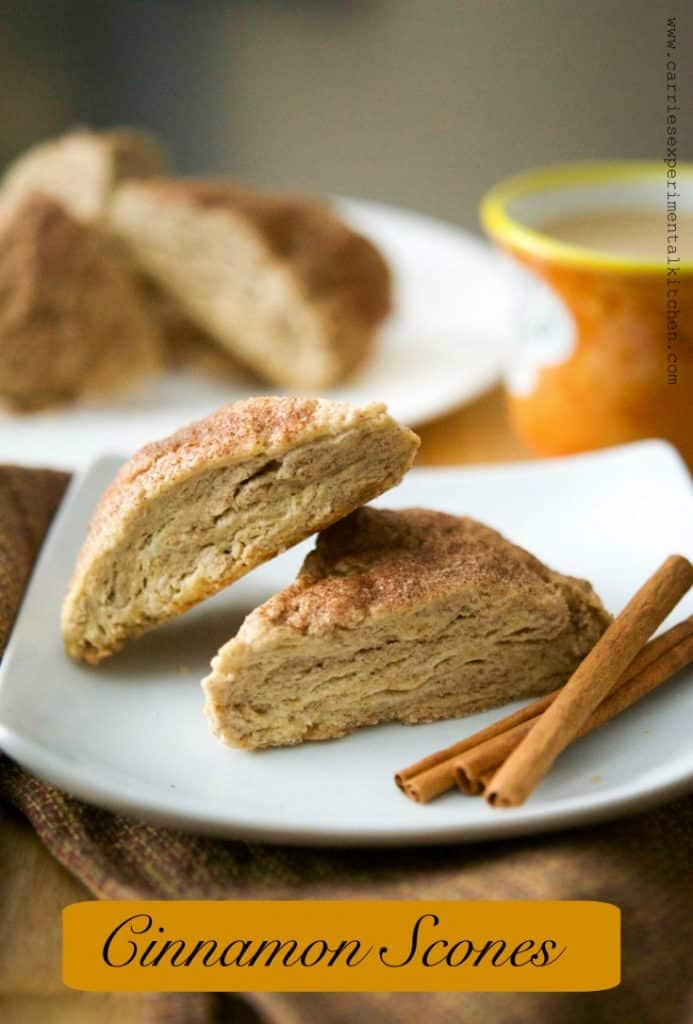 Cinnamon Scones are deliciously moist and perfect for a quick on the run breakfast or afternoon snack with a cup of your favorite hot beverage.