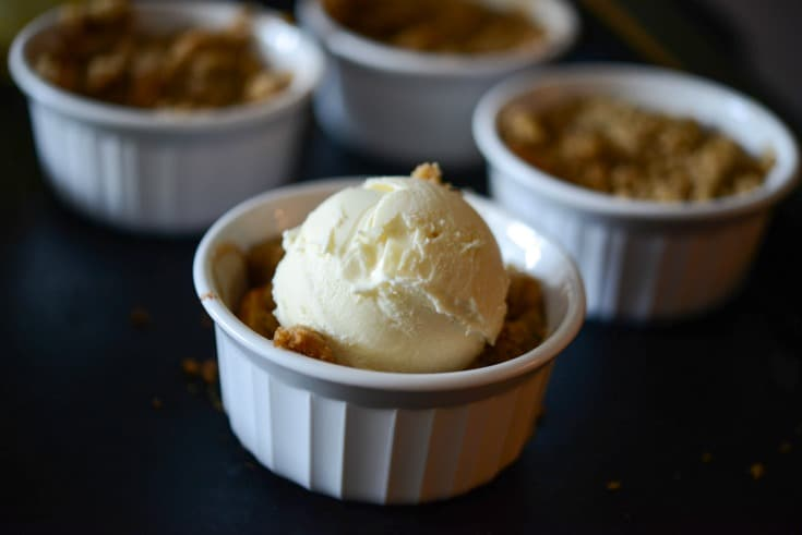 Fireball Apple Crumble