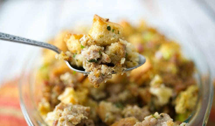 stuffing corn bread and sausage stuffing easy sausage stuffing ...