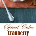 I've made a couple of versions of homemade cranberry sauce over the years