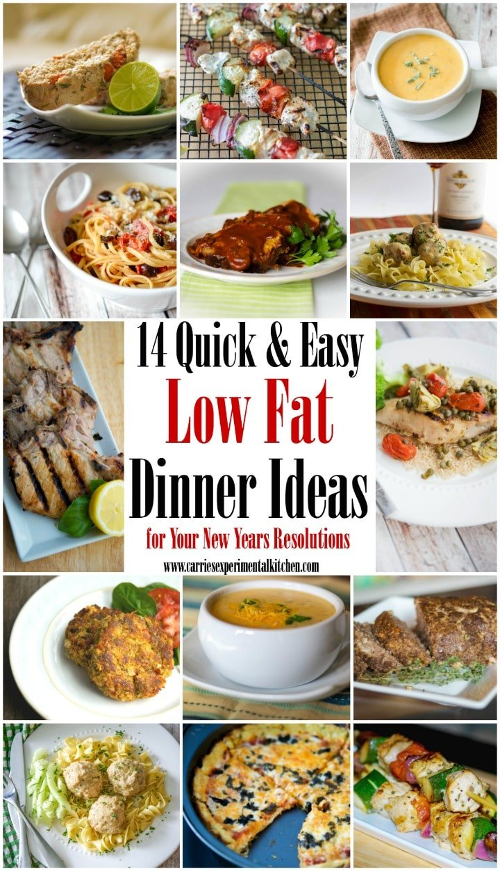 Get the best low fat dinners recipes from trusted magazines, cookbooks, and more. You'll find recipe ideas complete with cooking tips, member reviews, and ratings.