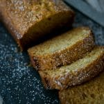 Combine the flavors of the season with this Eggnog Bread made with bananas, eggnog and nutmeg. Make into mini loaves for gift giving too!