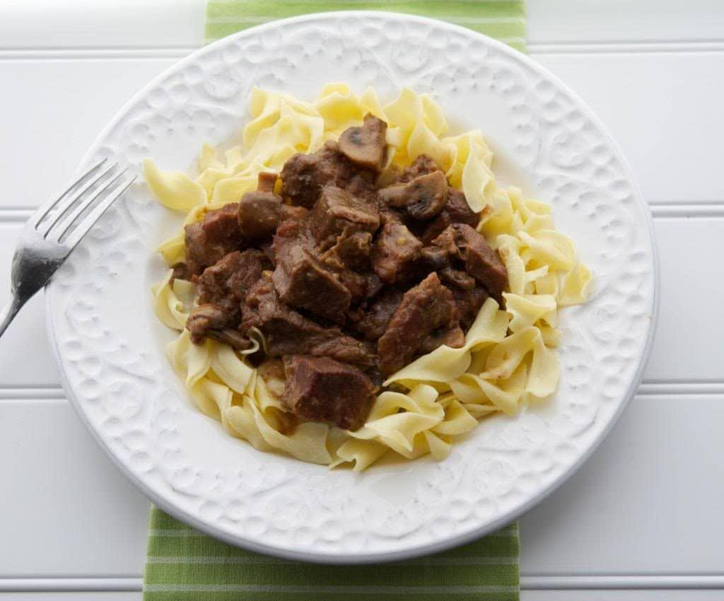 Madeira Beef Stew
