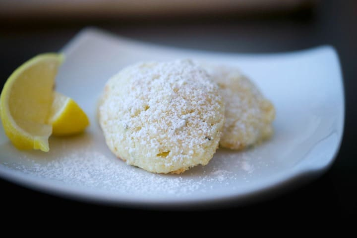 Rosemary Lemon Ricotta Cookies