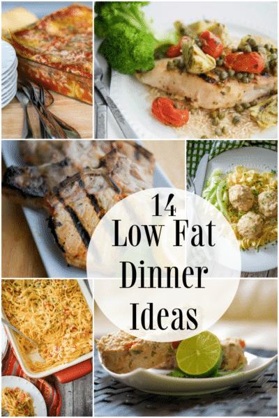 Low fat dinner ideas