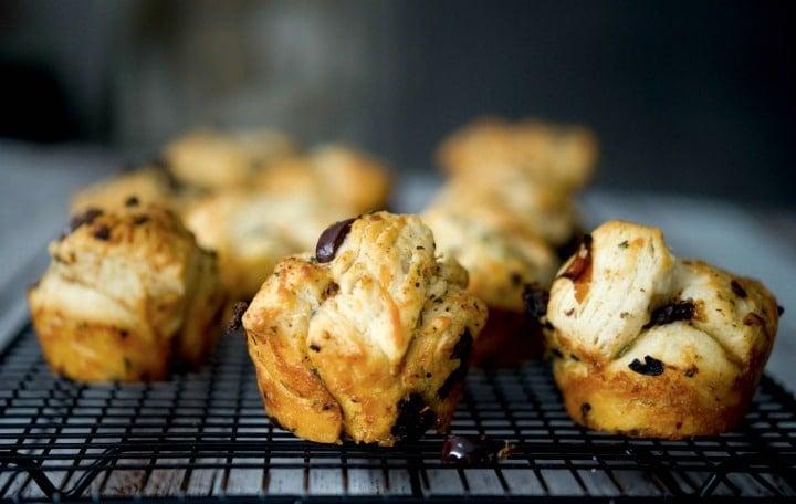 Savory Mediterranean Monkey Bread Rolls