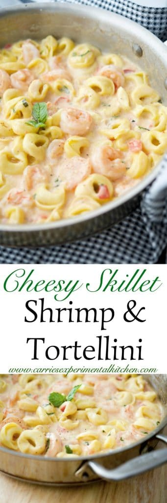 Cheesy Skillet Shrimp Amp Tortellini Ready In 20 Minutes