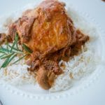Crock Pot Chicken in a Sun Dried Tomato Mushroom Cream Sauce