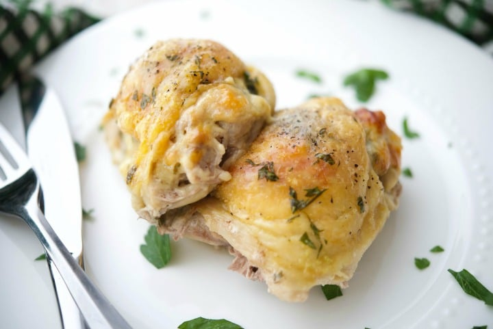 Dubliner Tomato Chicken (plated)