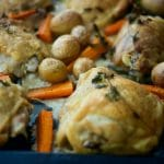 Sheet Pan Oregano Chicken & Vegetables