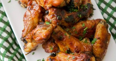 Guinness BBQ Baked Chicken Wings