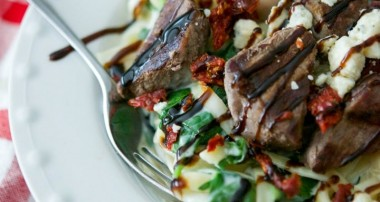 Steak Gorgonzola Alfredo (Olive Garden Copycat)
