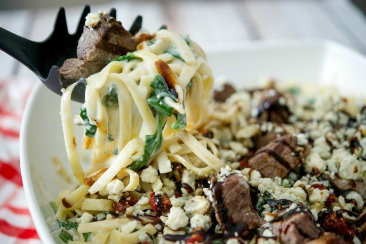 steak gorgonzola alfredo olive garden copycat carries - Olive Garden Novi