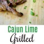 Rib eye steak marinated in cajun seasonings combined with fresh lime juice, honey and a light oil; then grilled to your liking. Make it as mild or spicy as you like, either way, it will be your new favorite marinade!