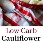 If you like potato salad during those warm weather get togethers, but can do without all of the extra added carbs, try this Low Carb Cauliflower Picnic Salad instead!