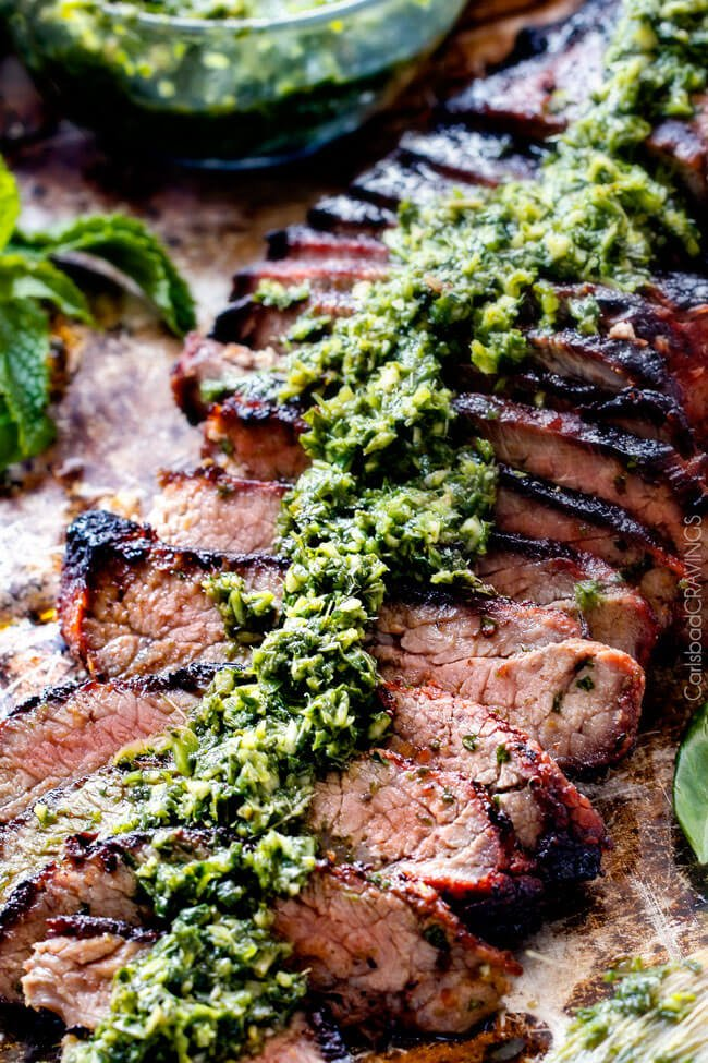 Asian Chimichurri Steak | Carlsbad Cravings