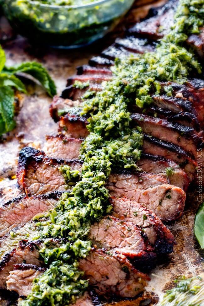Asian Chimichurri Steak   Carlsbad Cravings
