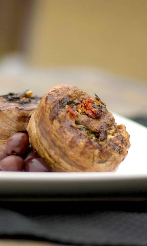 Mediterranean Stuffed Flank Steak