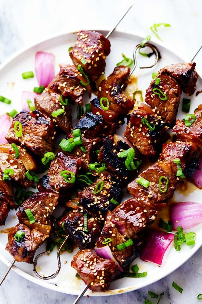 Asian Steak Skewers | The Recipe Critic