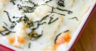 Roasted Vegetable Ratatouille Lasagna