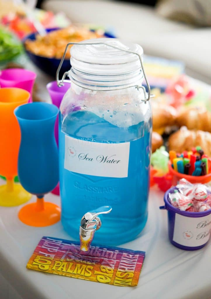 Sea Water (Blue Rum Punch)