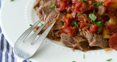 Braised Cinnamon Whiskey Beef Brisket