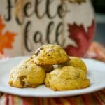Pumpkin Pecan Sugar Cookies