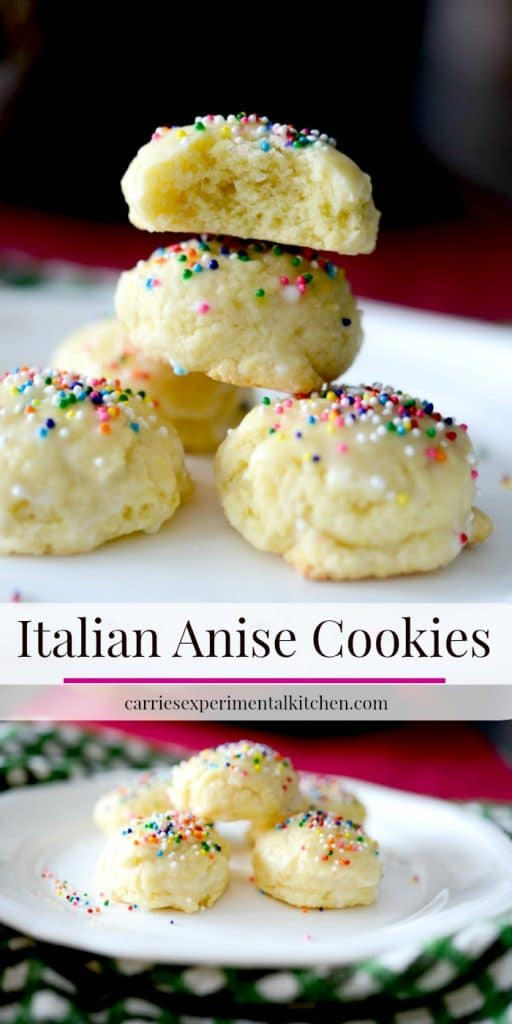 Best Anise Cookie Recipe : Anisette Cookies Recipe - traditional Italian cookies : Use your favorite extract for a new flavor!