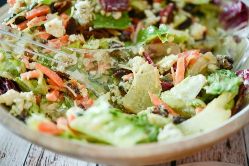 Bleu Cheese Pecan Chopped Salad (Outback Steakhouse Copycat)