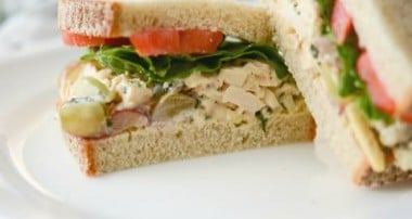 Napa Almond Chicken Salad (Panera Bread Copycat)