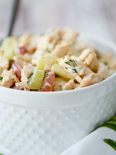 Napa Almond Chicken Salad (Panera Copycat)