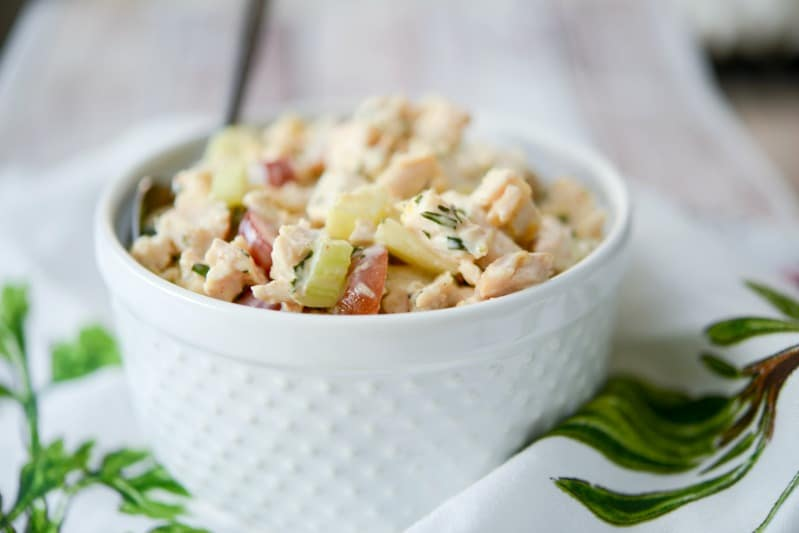Napa Almond Chicken Salad (Panera Copycat)