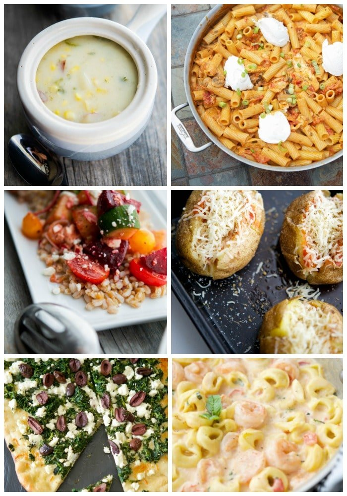Here are 30 Meatless Meals for your Good Friday menu planning including Soup, Salad/Sandwiches, Pizza/Flatbreads, Pasta, Meatless and of course, Seafood to help plan your day.