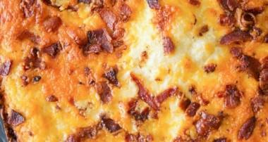 Bacon & Cheddar Flatbread