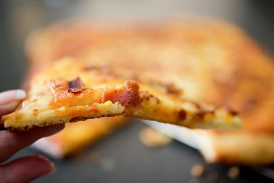 Bacon & Cheddar Flatbread