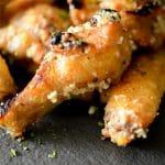 Parmesan Peppercorn Baked Chicken Wings