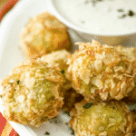 Guacamole Bites with a Jalepeno Ranch Dipping Sauce