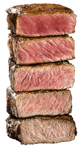 Beef Degrees of Doneness