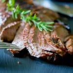 Red Wine Rosemary Marinated London Broil