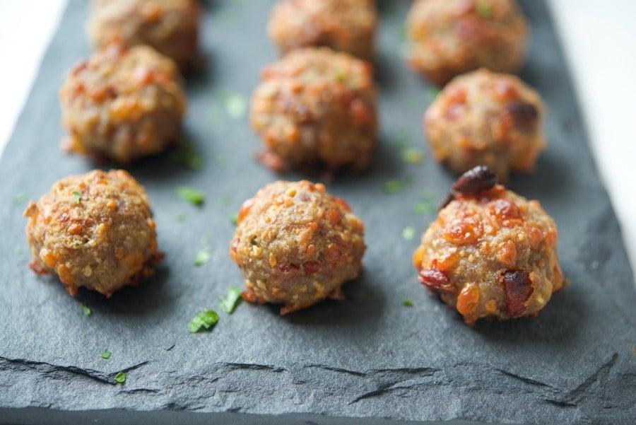 Cheesy Italian Sausage Meatballs