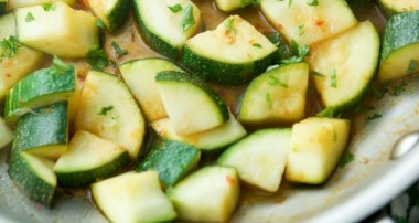 Chili Lime Sautéed Zucchini