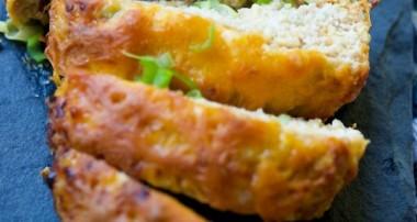 BBQ Cheddar Chicken Meatloaf {Gluten Free}