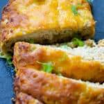 BBQ Cheddar Chicken Meatloaf