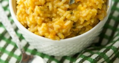 Sweet Potato and Sage Risotto
