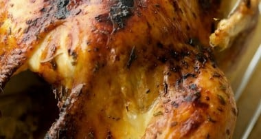 Balsamic Maple Whole Roasted Chicken