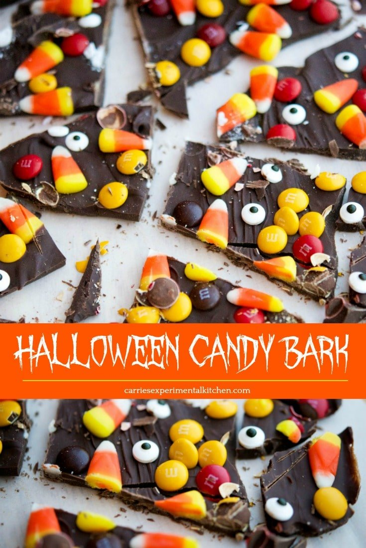 halloween candy bark - carrie's experimental kitchen