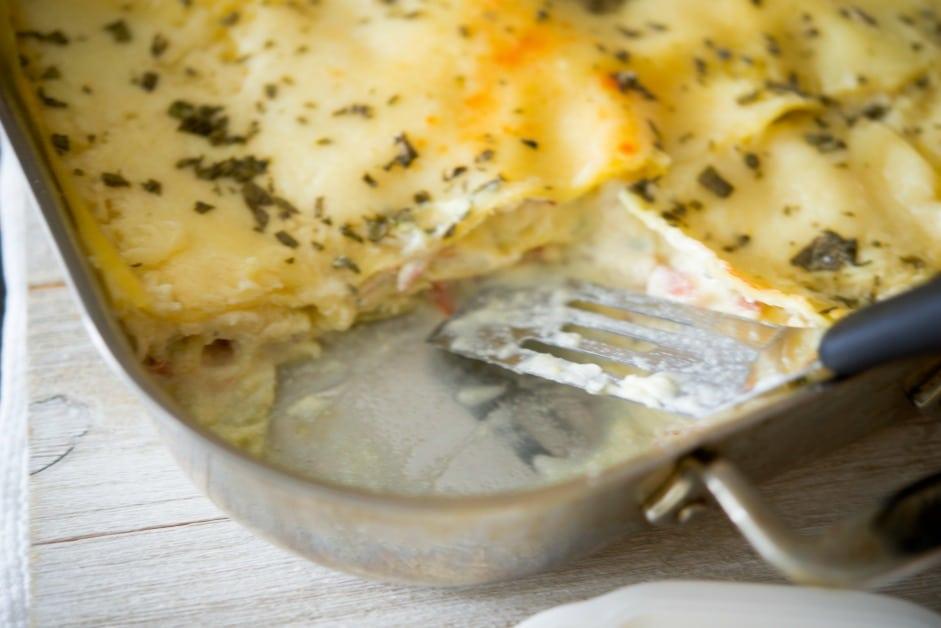 Chicken Saltimbocca Lasagna