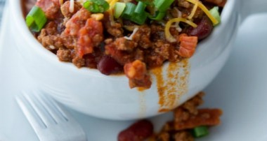 Hearty Chorizo Chili
